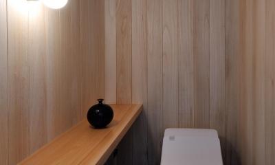 柳瀬の家 (トイレ)