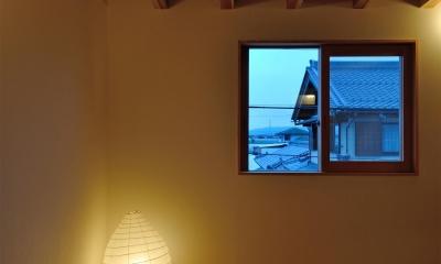 柳瀬の家 (寝室)