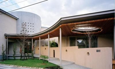 雁木のある家