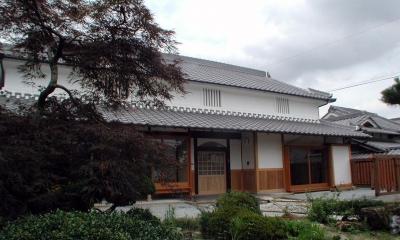 「古民家再生の家」築150年の古民家の再生 (建物外観)