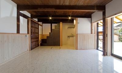 『姫路の家』古民家再生と米蔵の曳家
