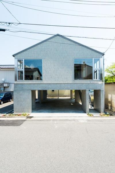 稲荷町の家 〜畳廊下のある家〜 (外観)