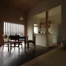 『HDFの家』〜雑木林と語らう家〜の写真 落ち着くLDK空間