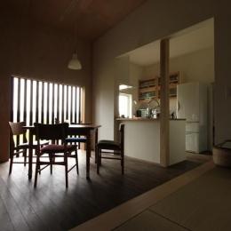 『HDFの家』〜雑木林と語らう家〜 (落ち着くLDK空間)