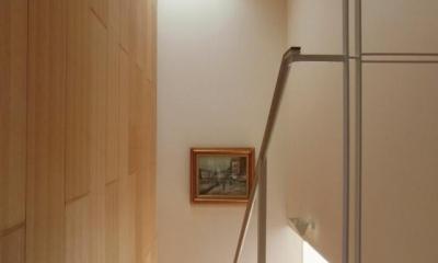 中井の家 (階段室)