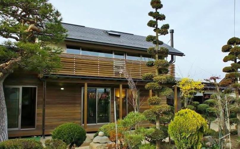 『T-House』〜古材の良さを取り入れた耐震補強リノベ〜の部屋 古材の良さを取り入れた家外観-1