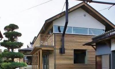 『T-House』〜古材の良さを取り入れた耐震補強リノベ〜 (古材の良さを取り入れた家外観-2)