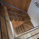 吹抜のいえの写真 階段