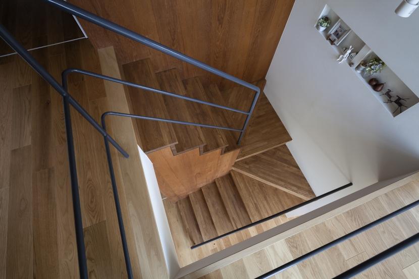 吹抜のいえの部屋 階段