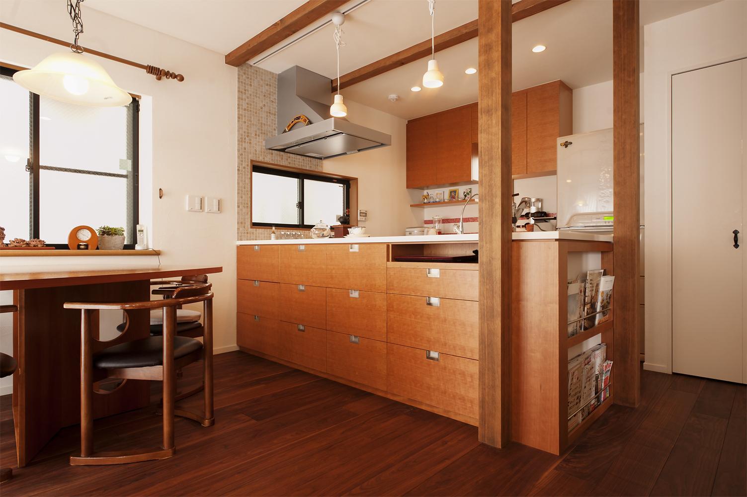 リノベーション・リフォーム会社:スタイル工房「S邸・家族の笑顔がつながるオープンキッチン」