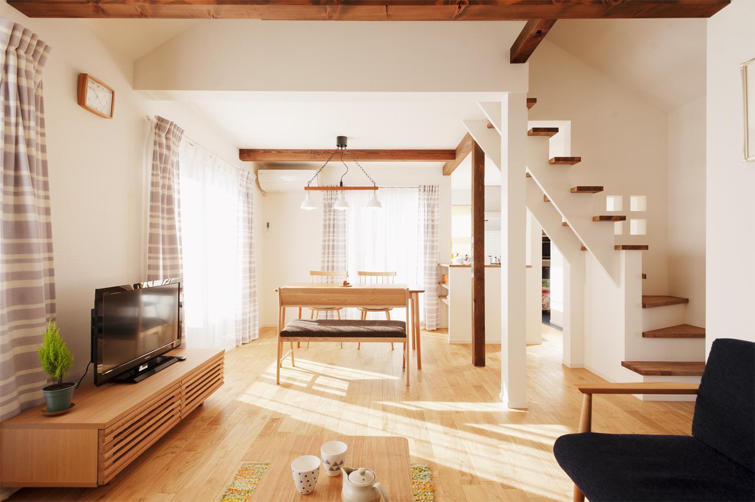 リフォーム・リノベーション会社:スタイル工房「T邸・一番気持ちの良い場所をLDKへ」