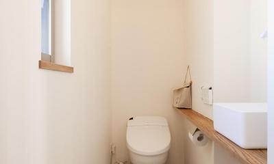 2階トイレ|T邸・一番気持ちの良い場所をLDKへ