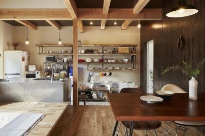 土間キッチン (西谷の家)