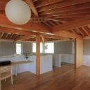 西和人の住宅事例「『木の下のマテリアル』柔らかさ、しなやかさをもつ住まい」