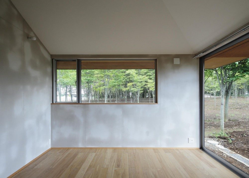 MYーhouse つくば (緑を眺める大きな窓)