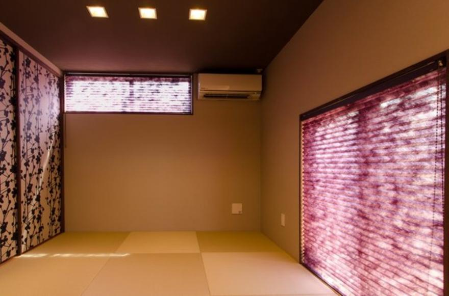 建築家:中土居美代子/久保田孝「『西条の家』中庭のある家」