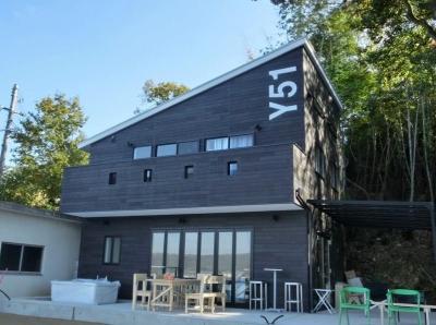 『安芸津の家』島のリゾートハウス (島のリゾートハウス外観)