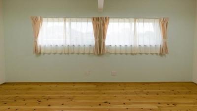 将来は2つに分けられる子供部屋 (『八本松の家』落ち着きと開放感を併せもつ家)