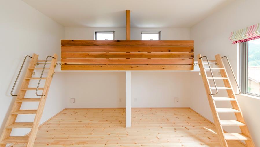 建築家:中土居美代子/久保田孝「『志和堀の家』スキップフロアのある家」