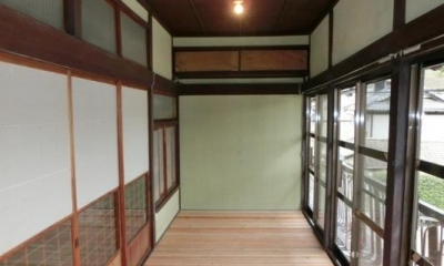 開放的な2階広縁|『江田島の家』築70年古民家のリノベーション