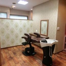 『ヘアガーデンナナ』開業20年目の美容室リニューアル工事 (同じ場所でシャンプー・カット・セットが可能)