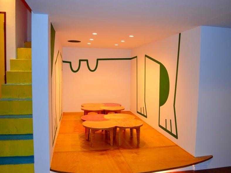 "『CAFE&BAR COLR』厨房を拡張、カウンター席を個室にの写真 sunomaの ""cha-bu"" -shape1"