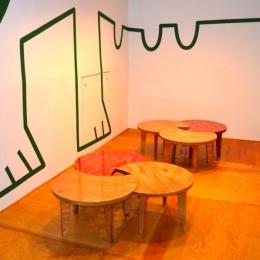"『CAFE&BAR COLR』厨房を拡張、カウンター席を個室に (sunomaの ""cha-bu"" -shape2)"