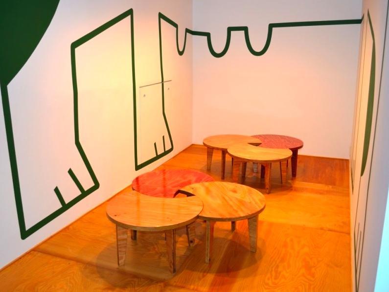 "『CAFE&BAR COLR』厨房を拡張、カウンター席を個室にの写真 sunomaの ""cha-bu"" -shape2"