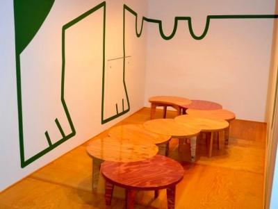 "『CAFE&BAR COLR』厨房を拡張、カウンター席を個室に (sunomaの ""cha-bu"" -shape3)"