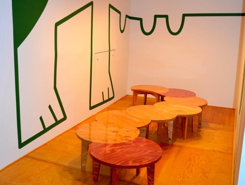 "『CAFE&BAR COLR』厨房を拡張、カウンター席を個室にの写真 sunomaの ""cha-bu"" -shape3"