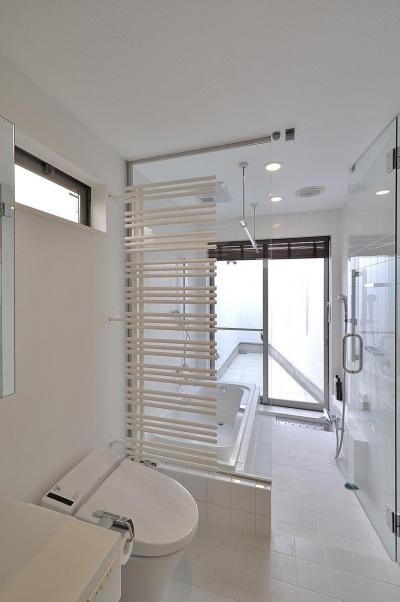バスルーム (駒沢の家)