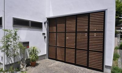 駒沢の家 (ゲート)