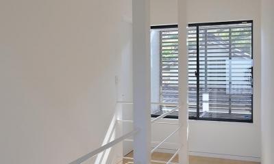 倉敷の家 (階段まわり)