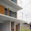 鉄筋コンクリート造+木造の家外観