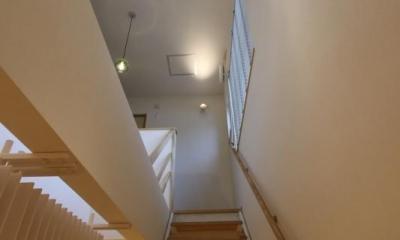 丸パイプの階段|『Love House』こだわりの詰まった可愛らしい住まい
