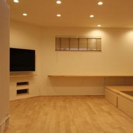 リビング・畳スペース (『Love House』こだわりの詰まった可愛らしい住まい)