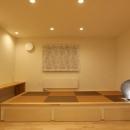 床下収納のある畳スペース