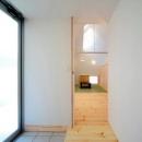 親世帯-明るい玄関
