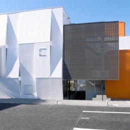 『Natural Cubes』立体キューブの賃貸住宅 (立体キューブの賃貸住宅-外観)