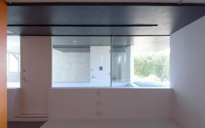『Natural Cubes』立体キューブの賃貸住宅 (room1-玄関)