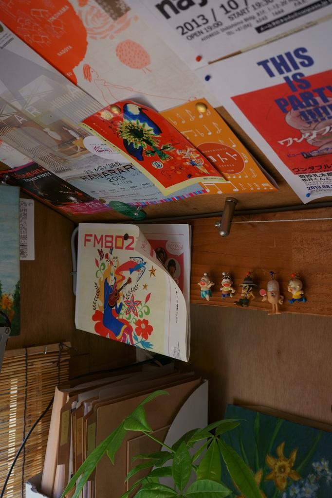 『屋根裏のアトリエ』限られた空間をアトリエにリノベの部屋 彩りを加えるインテリア