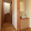洗面スペース・階段