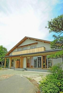 大屋根造りの家 (大屋根の家)