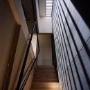 トップライトのある階段室