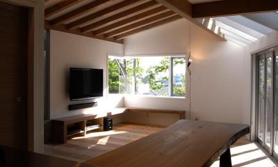 『HKH』優しい光の集まる木造2階建て住宅 (光の集まるLDK)