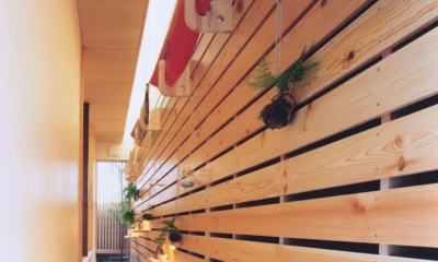 新小岩の家 (通り土間)