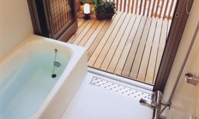 新小岩の家 (浴室)