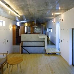 『subako』重厚感のあるコンクリート住宅