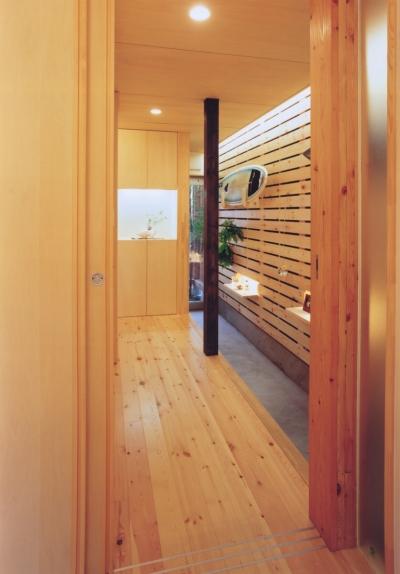 新小岩の家 (玄関)