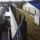 『subako』重厚感のあるコンクリート住宅の写真 眺望を満喫できる屋上庭園